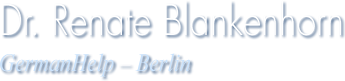 Renate Blankenhorn